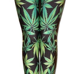 Marijuana Print Pot Print Folded Wa..