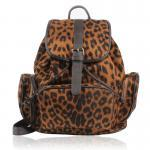 Backpack With Leopard Prin..