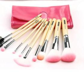 10 Cosmetic Brush Set Professional Make-Up Tools Makeup Brush Set