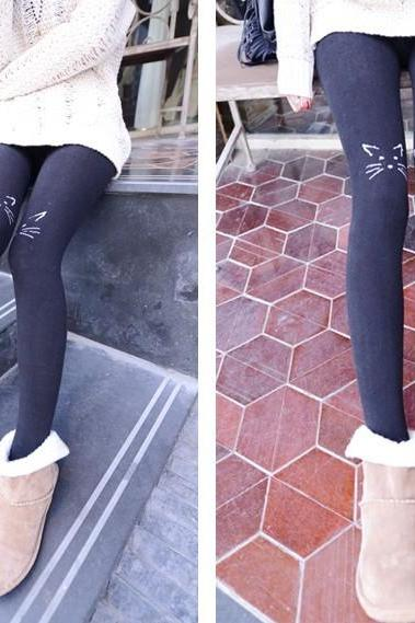 Kawaii Cat Stockings Tights